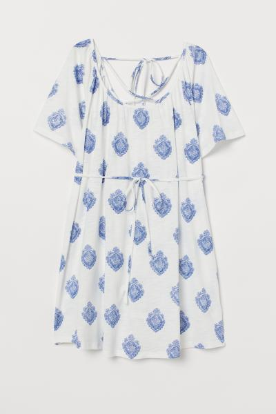 H&M - MAMA Tunic with lacing - 4