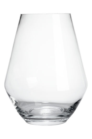 Grand vase en verre - Verre transparent -  | H&M FR