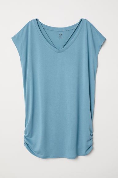MAMA Sports top - Dark turquoise - Ladies | H&M CN