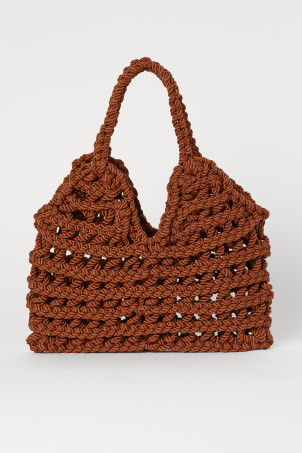 Braided handbag