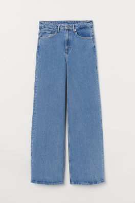503e83863a Wide Regular Jeans