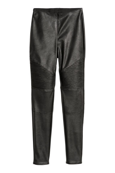 Biker leggings - Black -  | H&M CN