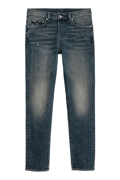 Slim Jeans - Denim blu scuro - UOMO | H&M IT