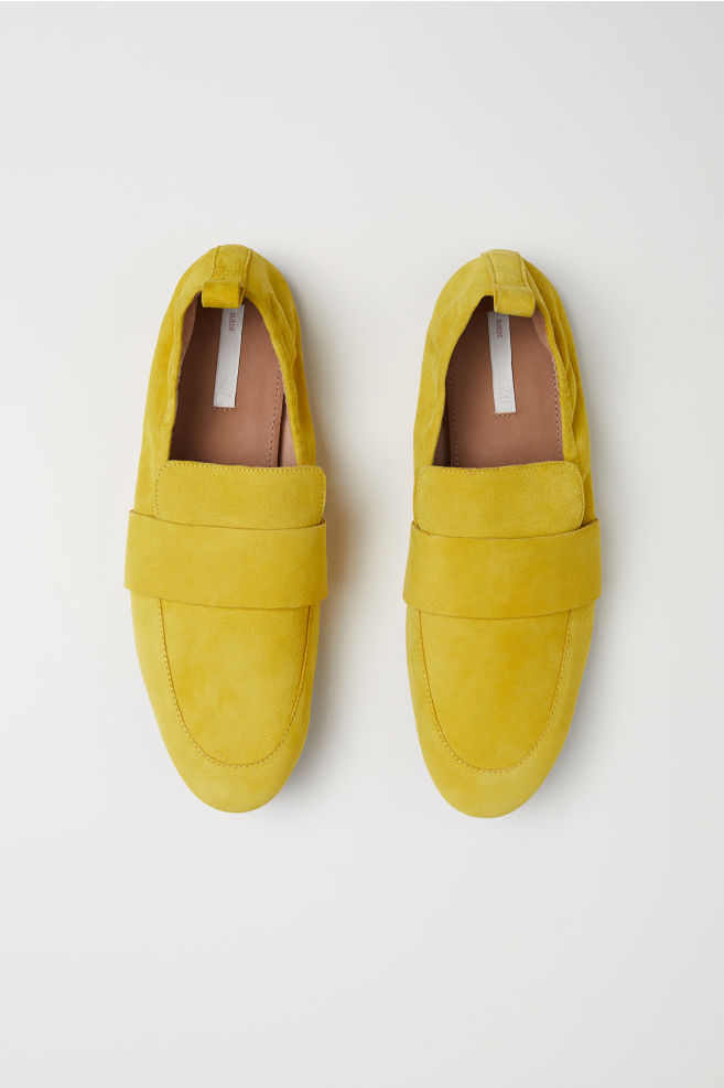 fbd8bebcb7d ... Loafers - Yellow suede - Ladies