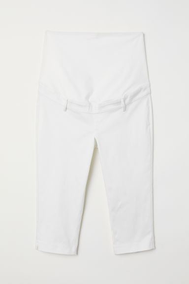 MAMA Capri trousers - White -  | H&M