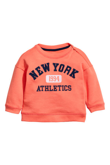 Sweatshirt - Orange -  | H&M CN