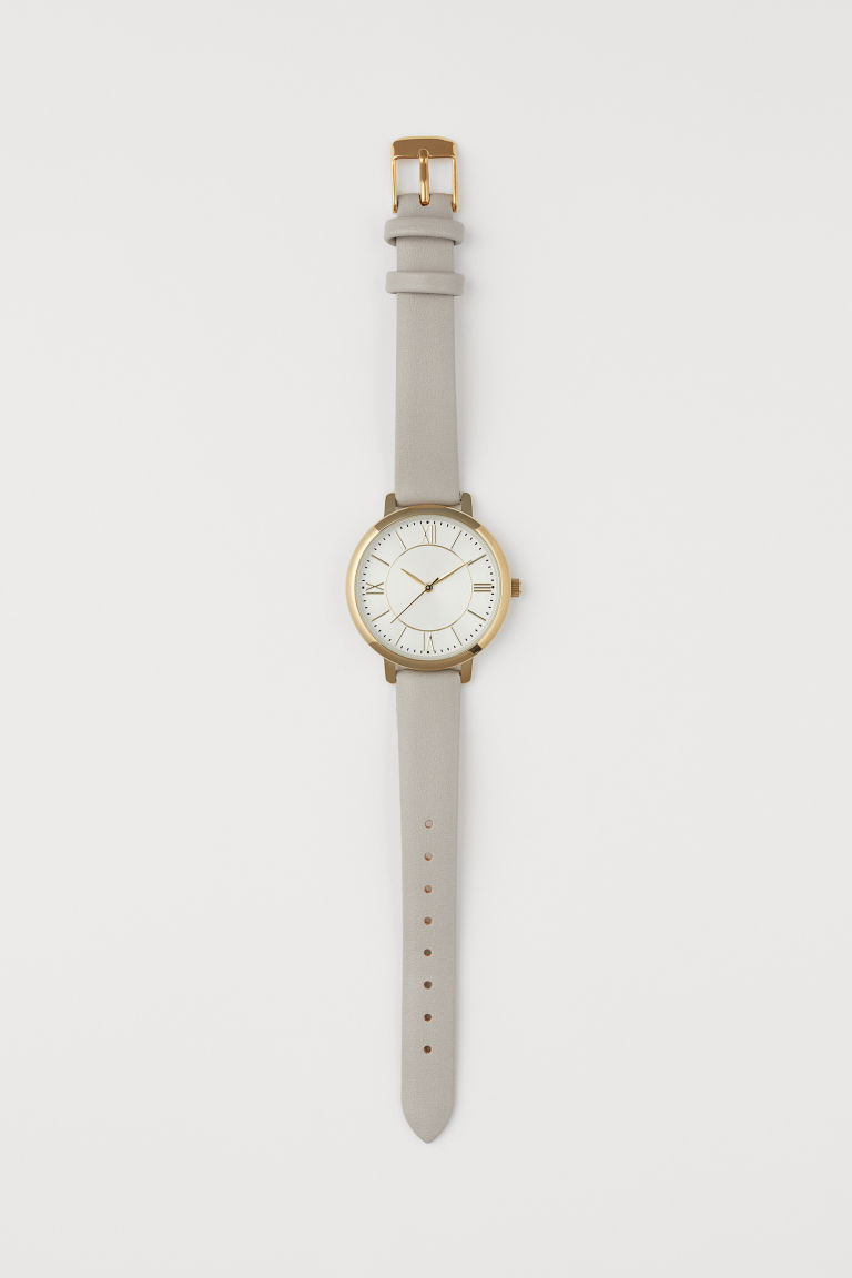 Watch - Light mole/Gold-coloured - Ladies | H&M GB