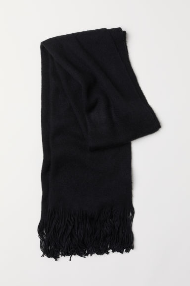 Scarf - Black - Ladies | H&M CN