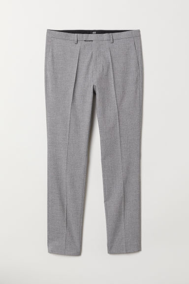 Suit trousers Skinny fit - Grey marl -  | H&M CN