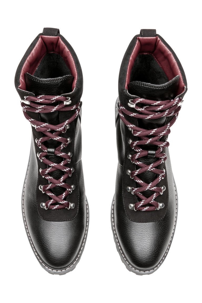 Warm-lined boots - Black - Ladies | H&M IE