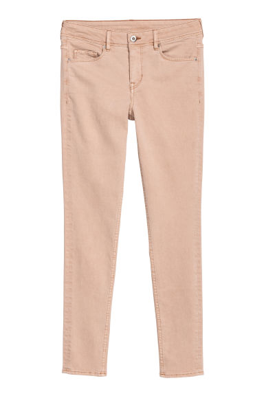 Super Skinny Regular Jeans - Beige - DAMES | H&M NL