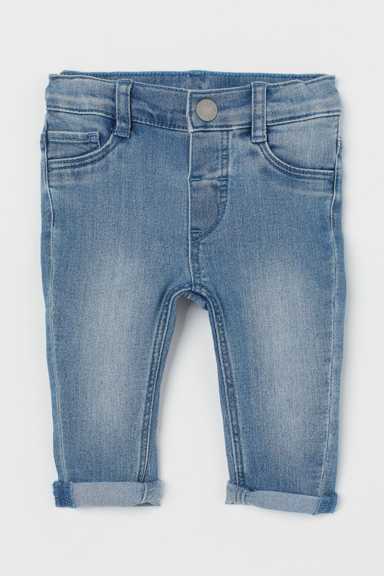 Skinny Fit Jeans - Denim blue - Kids | H&M IN