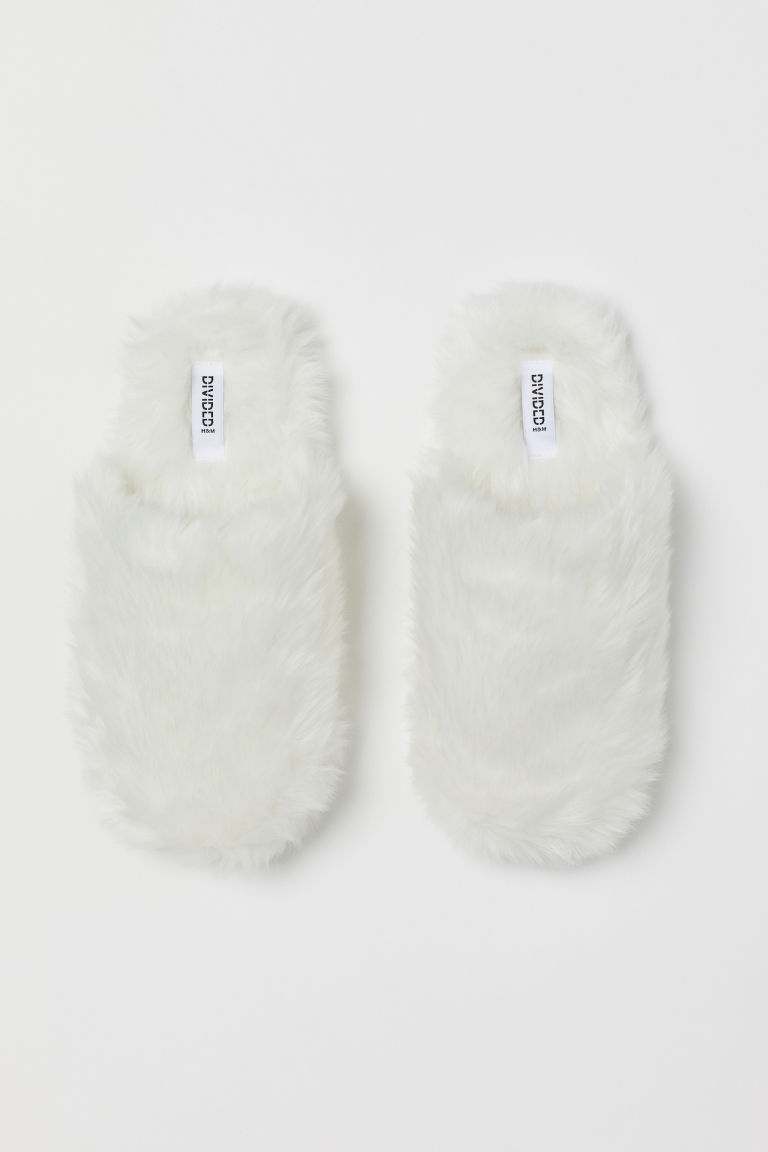 Chaussons - Blanc - FEMME | H&M CA