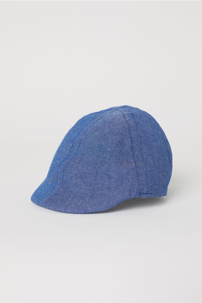 cfdfcb8de339e Chambray Flat Cap - Blue - Kids