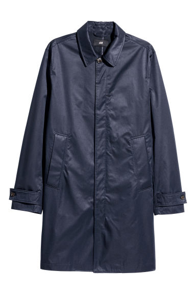 Car coat - Dark blue -  | H&M