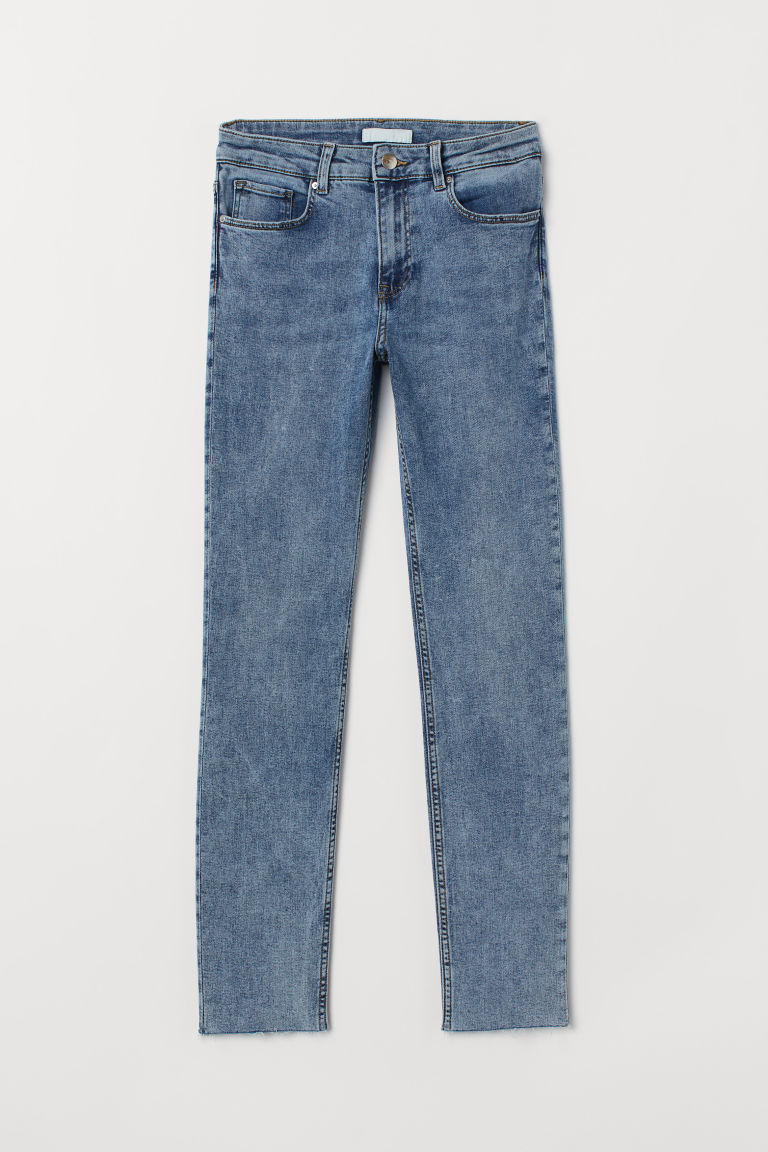 Pantaloni Skinny fit - Blu denim/washed - DONNA | H&M IT