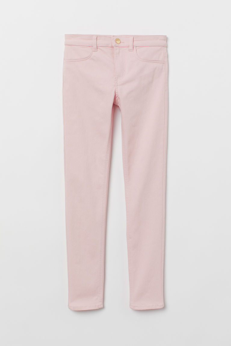 Superstretch trousers - Powder pink - Kids | H&M CN