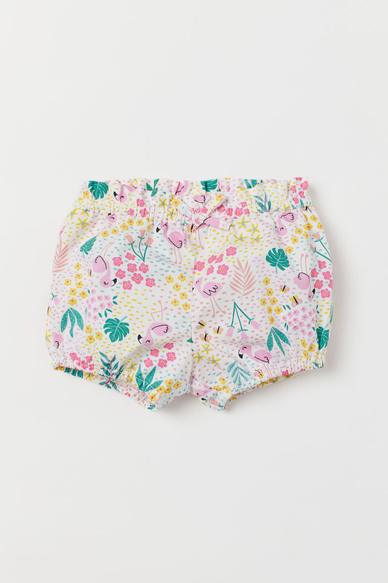 Puff Pants - White/patterned - Kids | H&M US