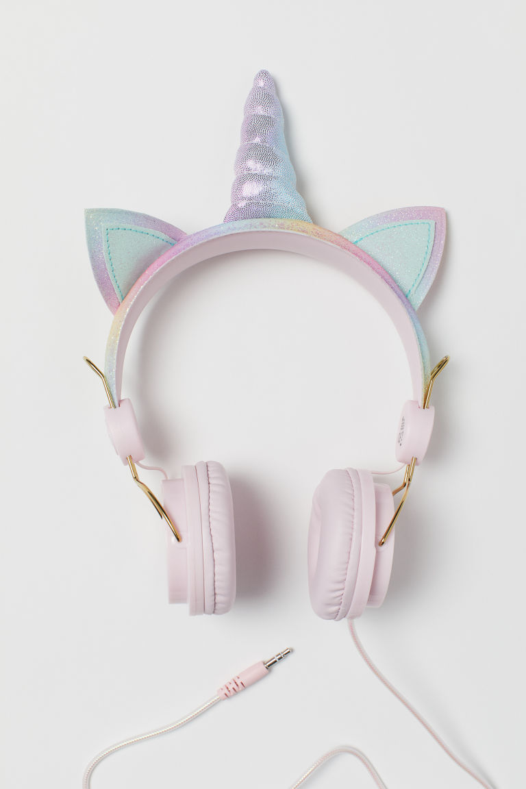 Casque audio - Rose/licorne - ENFANT | H&M FR