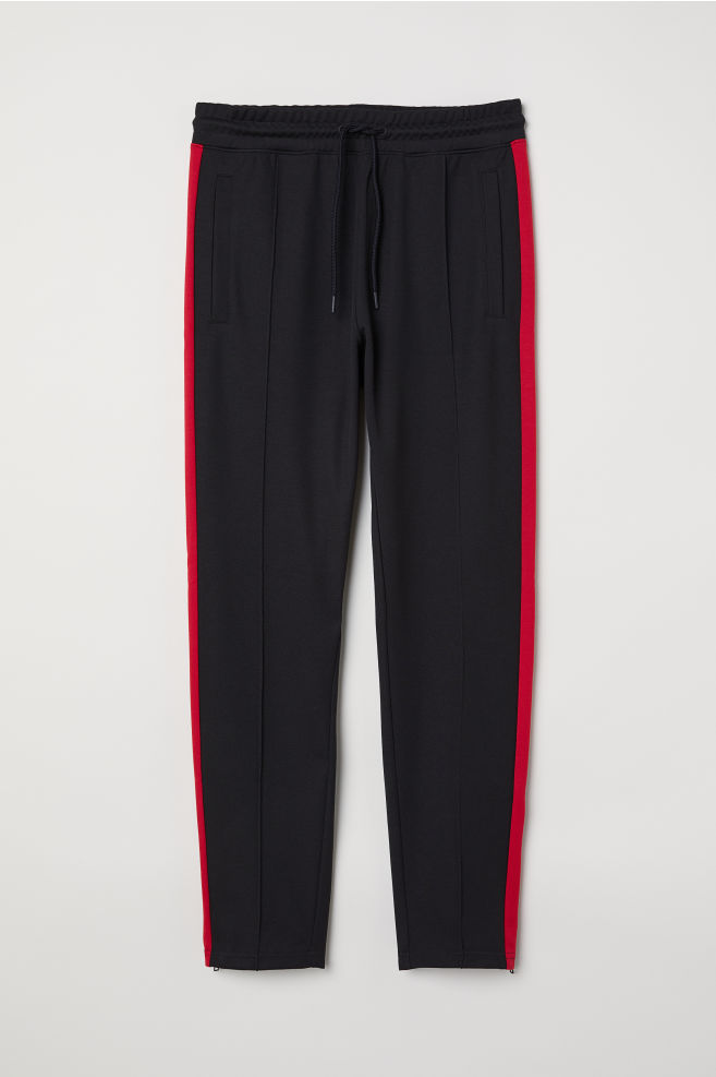9bfe88efd7 Sports trousers - Black - Men | H&M 1