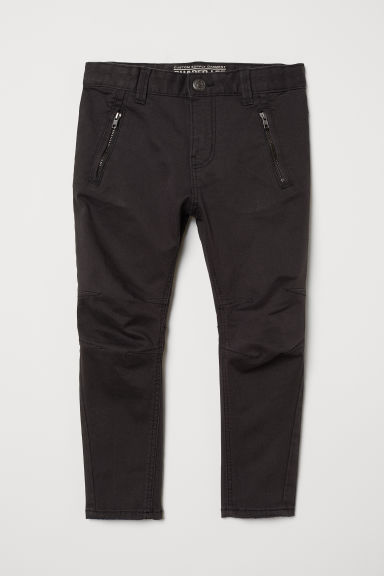 Pantaloni in twill Shaped leg - Nero - BAMBINO | H&M IT