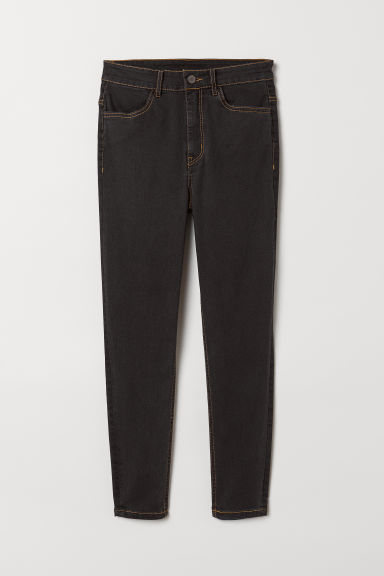 Skinny High Jeans - Schwarz -  | H&M AT