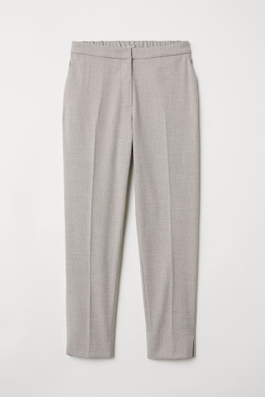 Tailored trousers - Light grey - Ladies | H&M CN