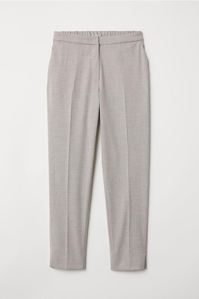 d0a7bb577 Pantalón de vestir - Gris claro - MUJER