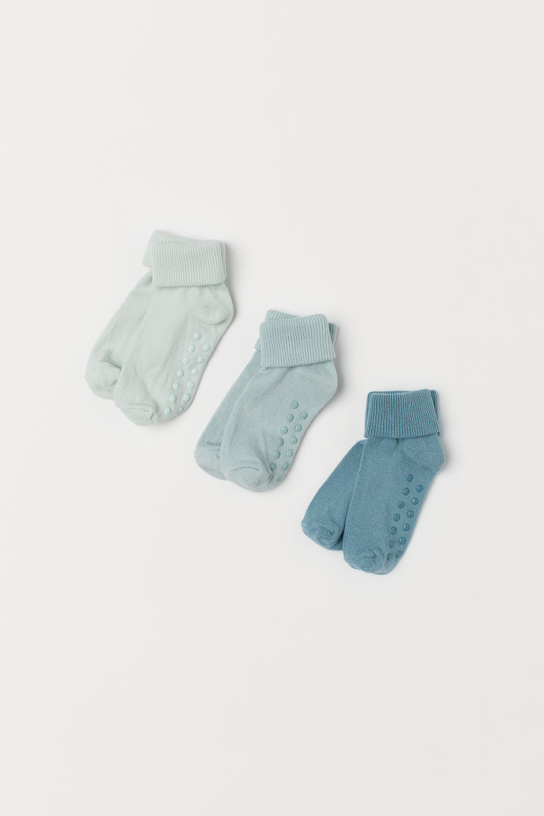 3-pack Socks - Turquoise - Kids | H&M US