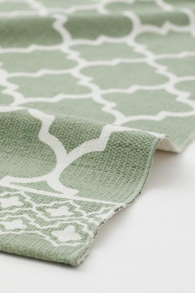 H&M - Patterned cotton rug - 2
