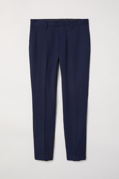 Suit trousers Skinny fit - Dark blue -  | H&M GB