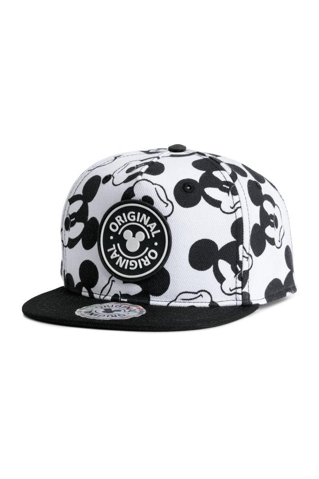 Cap with a motif - Black Mickey Mouse - Kids  2edc298a39e