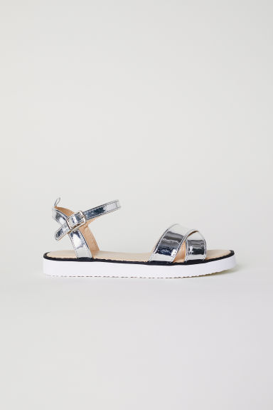 Sandals - Silver-coloured - Kids | H&M CN