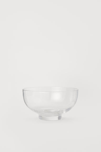 Small glass bowl - Clear glass - Home All | H&M CN