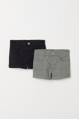 Shorts en twill 21051a29699