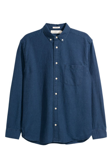 Oxford shirt Regular fit - Dark blue -  | H&M CN