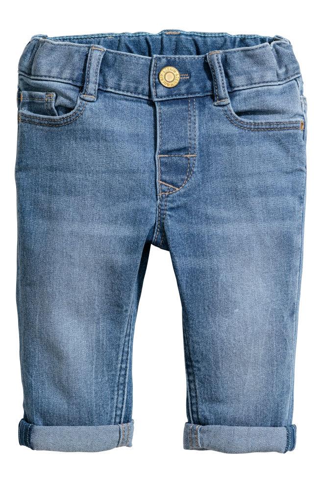 53ca8c136022b Slim Fit Jeans - Light denim blue - Kids