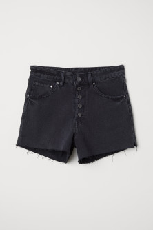 Short en jean Mom fit