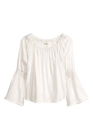 Top - White - Kids | H&M