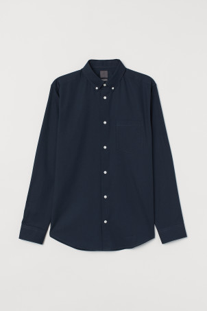 Premium Oxford cotton shirtModel