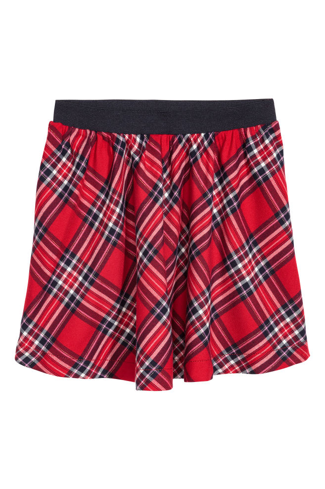 3e02b4447b6 Checked skirt - Red Checked - Kids