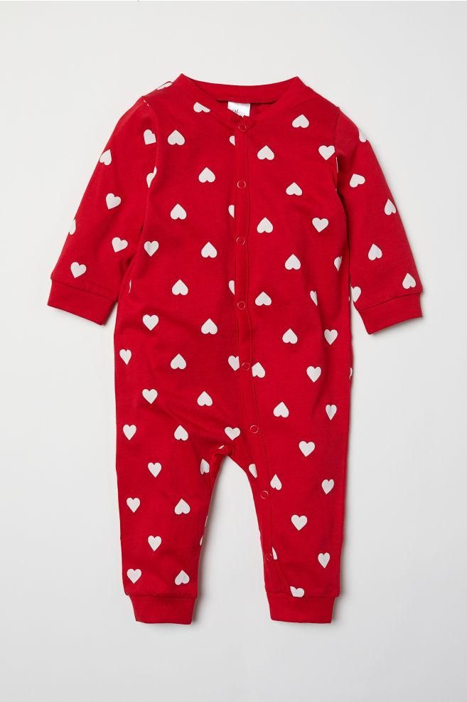 dae9e2ce14a15 Pyjama de Noël - Rouge/cœurs - ENFANT | H&M ...