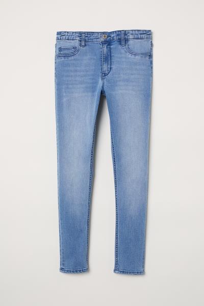 bfc90ded41 Skinny Fit Generous Size Jeans - Világos farmerkék - GYEREK   H&M ...