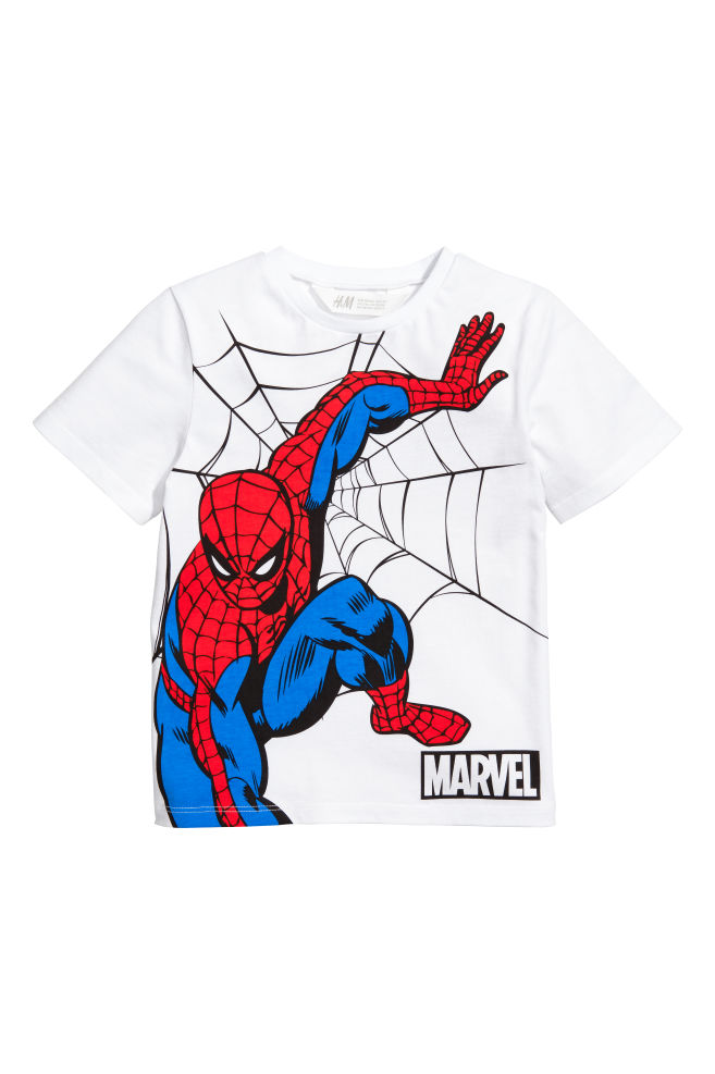 1fa6508c9 2-pack T-shirts - White/Spiderman - Kids | H&M 1