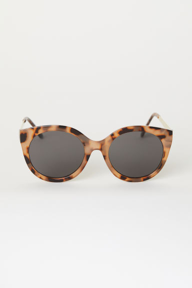 Sunglasses - Beige/Tortoiseshell-patterned -  | H&M CN