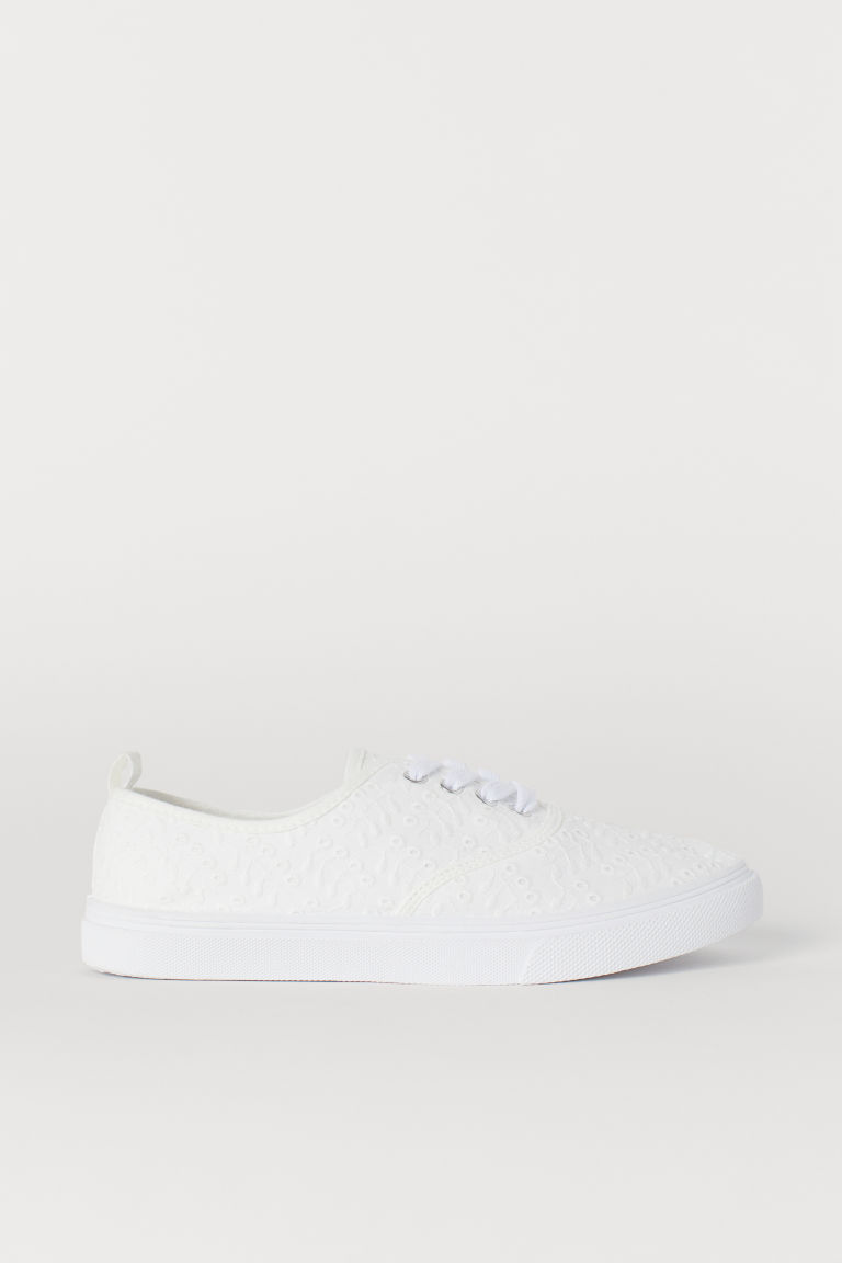 Trainers - White/Lace - Ladies | H&M GB
