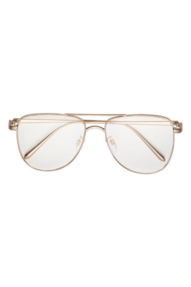 Glasses - Gold-coloured - Ladies | H&M