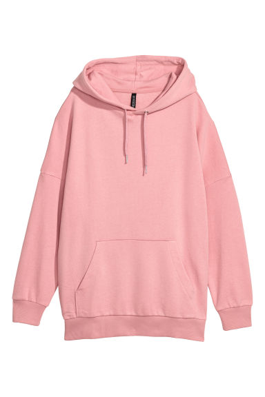 Hooded top - Old rose - Ladies | H&M CN