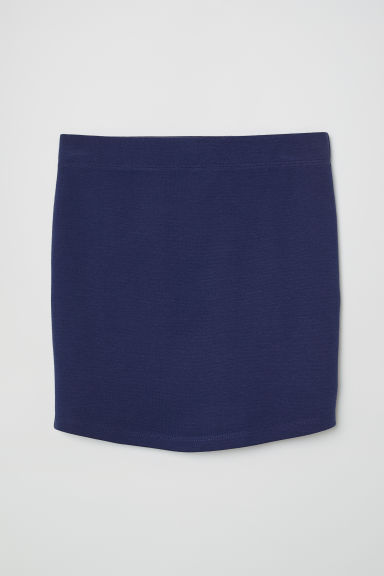 Jersey skirt - Dark blue - Kids | H&M
