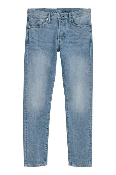 Slim Straight Jeans - Light blue -  | H&M